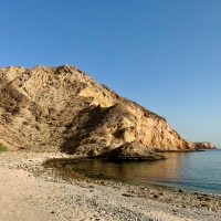 A secret beach walk near Sifat Ash Sheik