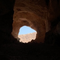 Mysterious Tahery Cave hike in the Sharqiyah region of Oman