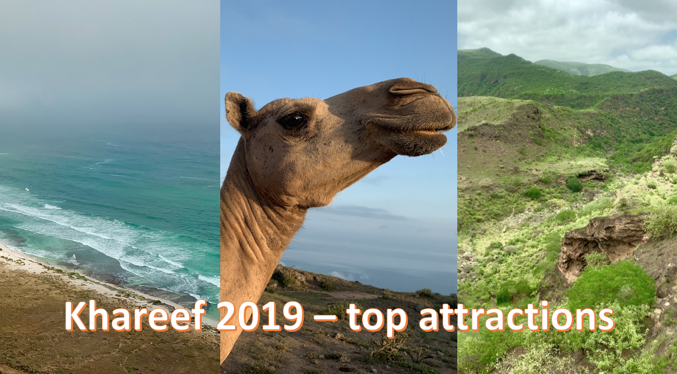 Khareef 2019 attractions Salalah