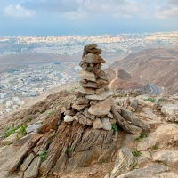 The best views of Muscat - White Mountain