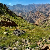 Crossing Muscat Mountains - from Al Ḩammām to Al Amarat ***