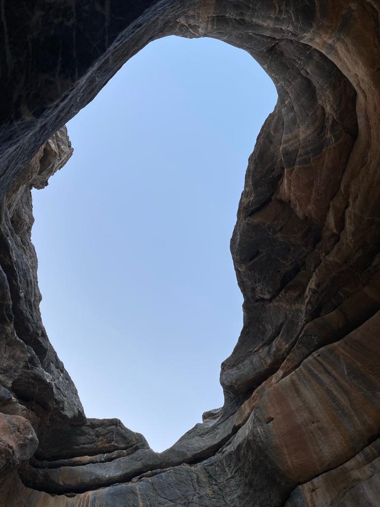 Wadi Sa'al hole