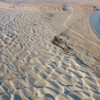 The Sugar Dunes: Where the desert meets the ocean